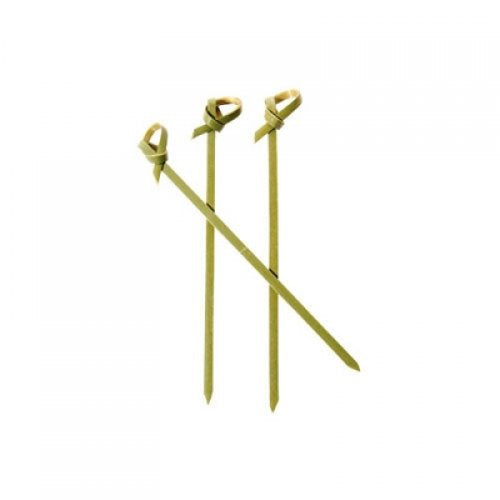Curly Picks Bamboo 6cm 50 Pack