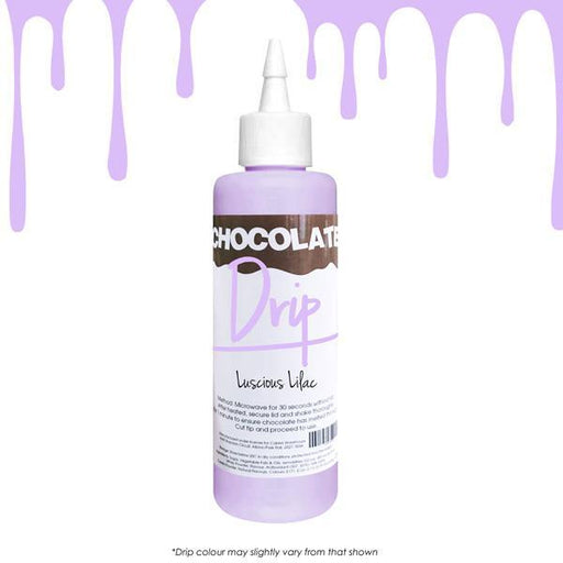 Chocolate Drip Luscious Lilac 250g