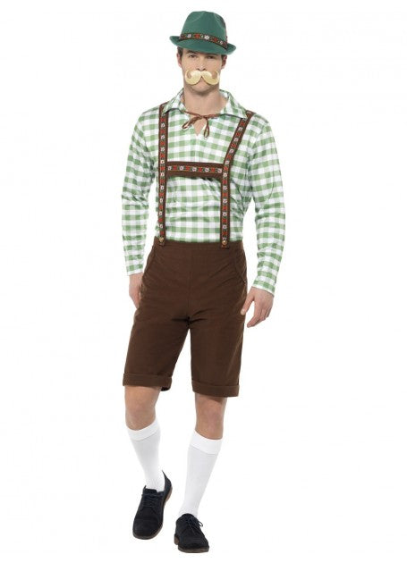 Alpine Bavarian Men's Costume