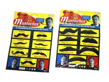 Stylish Moustaches 7 Pack