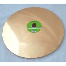 Rose Gold Round Cake Board 40cm/16'' 12mm