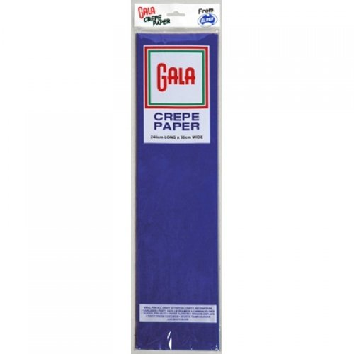 Gala Crepe Paper French Blue 240cmx50cm