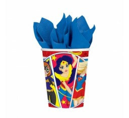 DC SUPERHERO GIRLS CUPS - PACK OF 8