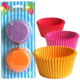 Coloured Baking Cups 4 3/4 Inch / 12cm (60)