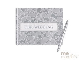 'Our Wedding' Guest Book with Pen