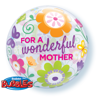 For A Wonderful Mother Bubbble Balloon