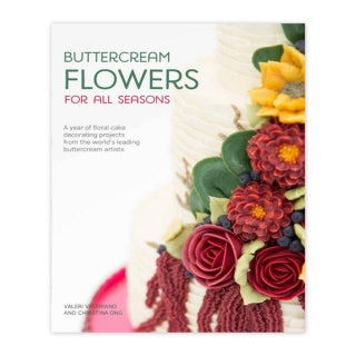Buttercream Flowers For All Seasons Book