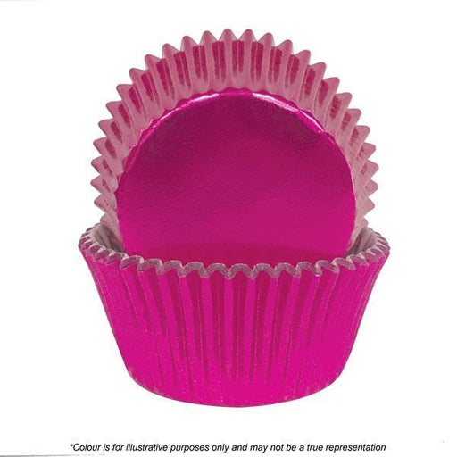 Cakecraft | 700 Pink Foil Baking Cups | Pack Of 72