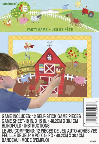 Farm Animals Party Game