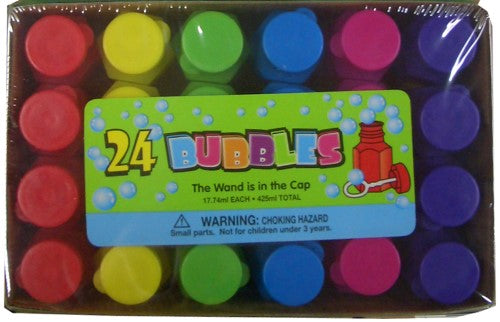 Bubbles 24PK Assorted Colours