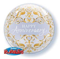 "Anniversary Classic Bubble Balloon 22""/56cm"