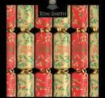 Red/Gold Christmas Crackers