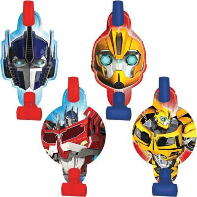 TRANSFORMERS BLOWOUTS PACK OF 8