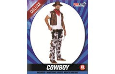 Men's Cowboy Costume Size Extra Large