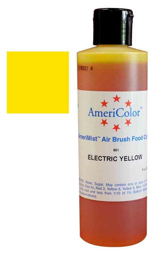 Amerimist Electric Yellow - Airbrush Colour 9 Oz