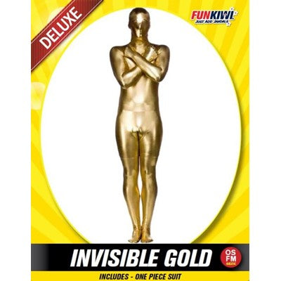 Invisible Gold Morph Suit
