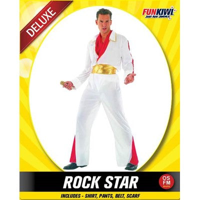 Adult Elvis Rock Star Costume