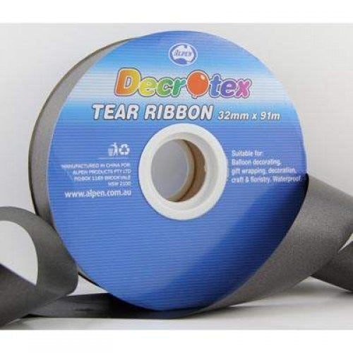 Tear Ribbon Black