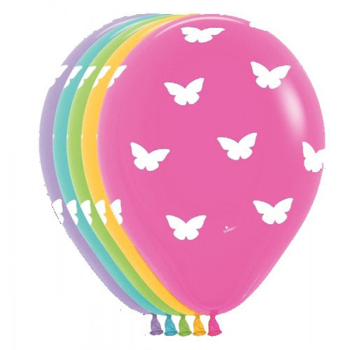 Butterfly Print Balloon