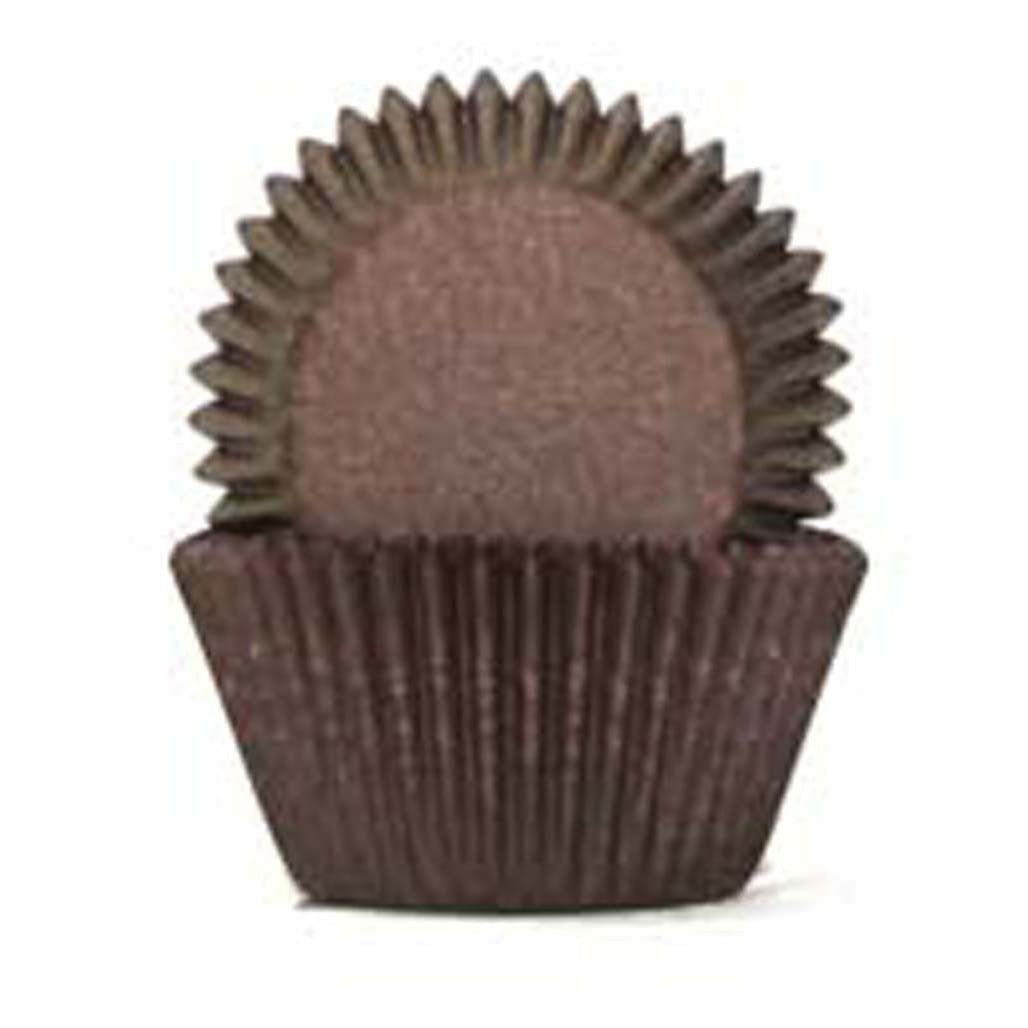 408 Baking Cups - Chocolate Brown - 100 Piece Pack
