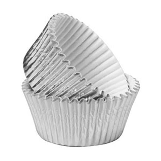 Stripes 25 Baking Cups Assorted