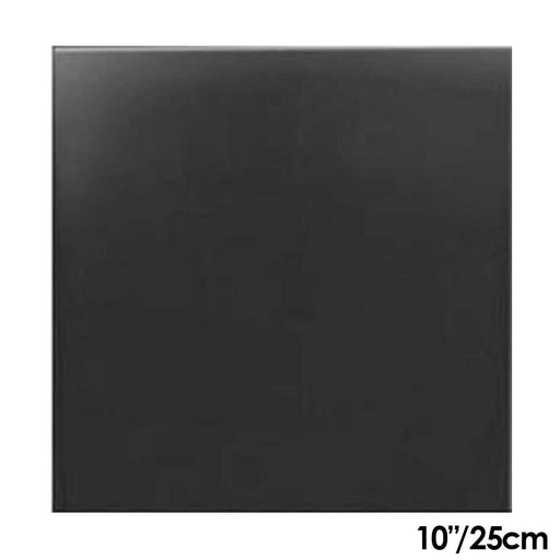 Cake Board Black 10 Inch Square  MDF 6mm Thick
