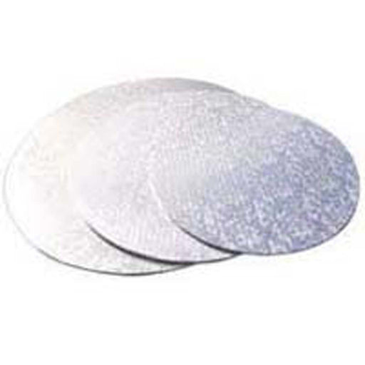 Cake Board  Silver  13 Inch  Round  Masonite  6mm Thick