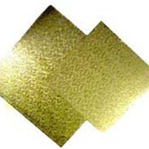 9 Inch-23cm Square Mdf Gold 4-6mm Cake Board