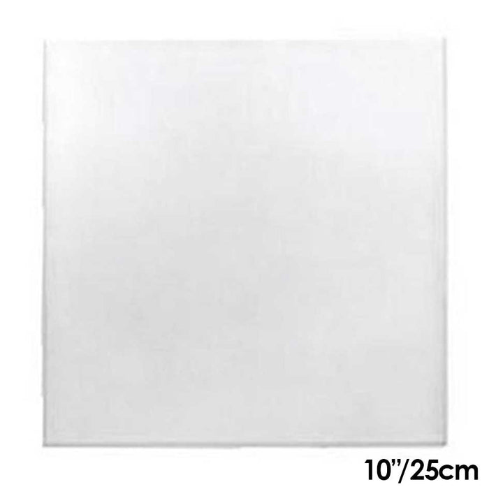 Cake Board | White | 10 Inch | Square | Mdf | 6mm Thick