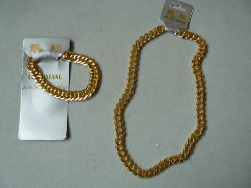 Necklace Chunky Gold