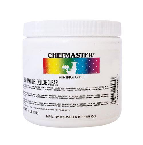 Chefmaster | Deluxe Clear | Piping Gel | 16 Oz/454 Grams