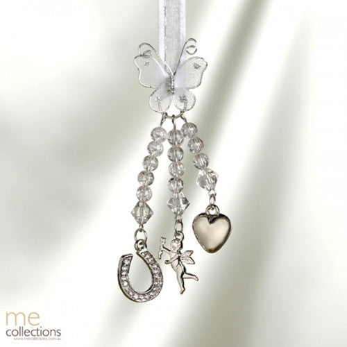 WEDDING CHARM HORSESHOE/CUPID/HEART/BUTTERFLY