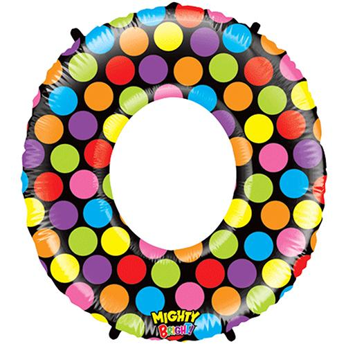 Non Foil Mighty Bright Donut Shape