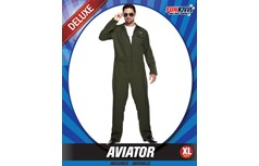 Men's Aviator Pilot Costume Size Extra Large