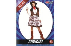 Ladies Cowgirl Costume Size Extra Large