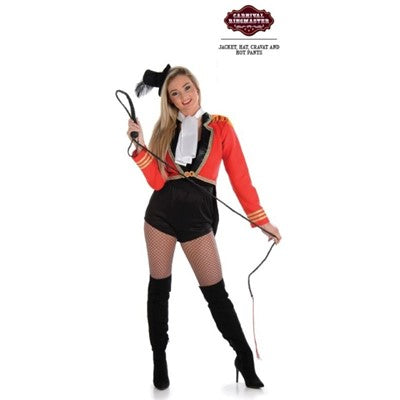 Ladies Ringmaster Costume Size Large