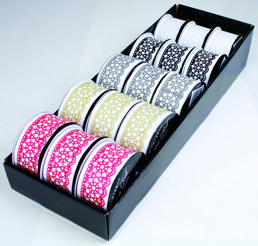RIBBON ROLL LACE TAPE 1M