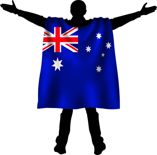 Aussie Cape Flag Adult