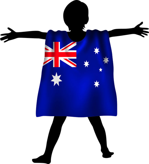 Aussie Cape Flag Kids
