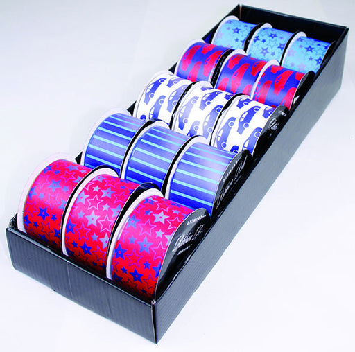 RIBBON ROLL FAB ASSORTED BOY