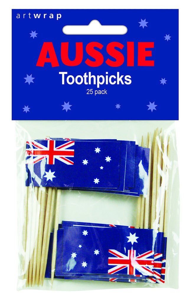 AUSSIE FLAG PICKS