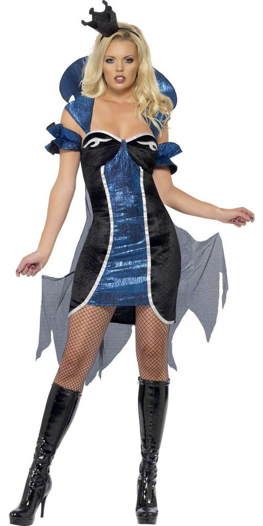 EVIL QUEEN COSTUME - EXTRA SMALL