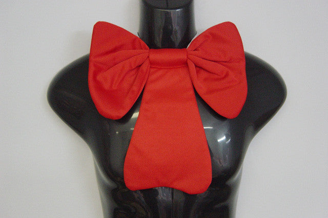 Small Red Fancy Bowtie