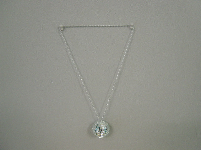 NECKLACE DISCO BALL 50MM