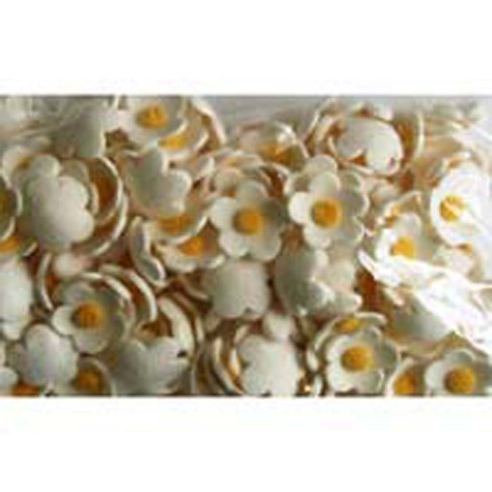 Blossoms White Small (1000) - Sugar Flowers