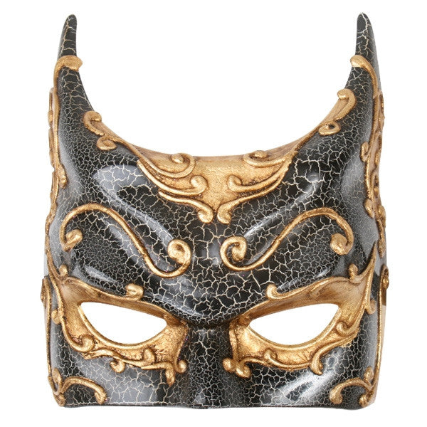 EYE MASK GOTHAM - GOLD AND SILVER
