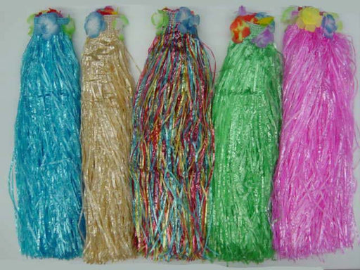 Grass Skirt - Assorted Colours
