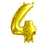 Artwrap Foil Balloon 35 cm Gold 4