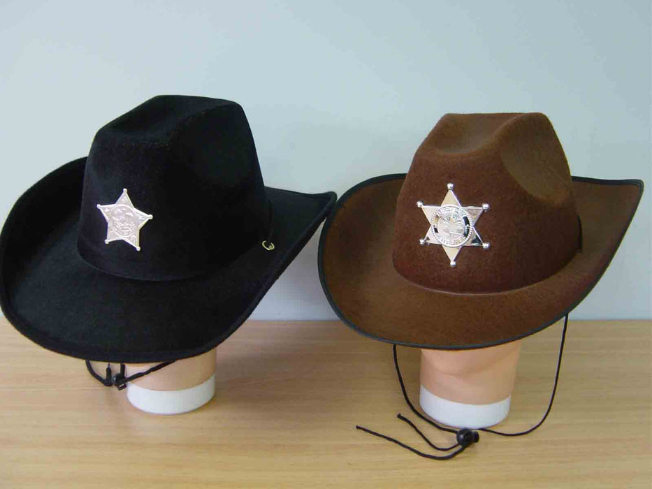 Brown Adult Hat Cowboy