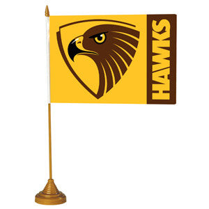 AFL DESK FLAG - HAWTHORN